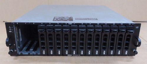 Dell PowerVault MD1000 15-Bay Drive Storage Array DAS 12 x Dell 1TB = 12TB